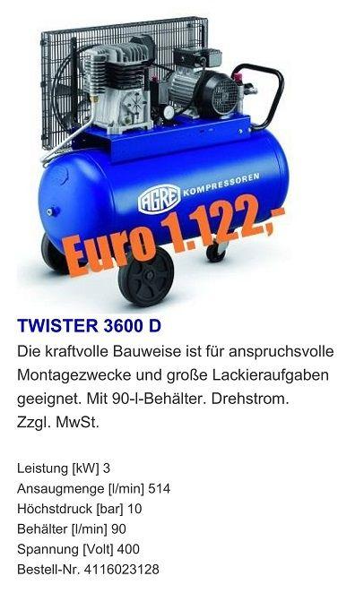 TWISTER 3600 D